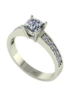 moissanite-premier-collection-9ct-gold-105ctnbsptotal-cushion-cutnbspsolitaire-ring