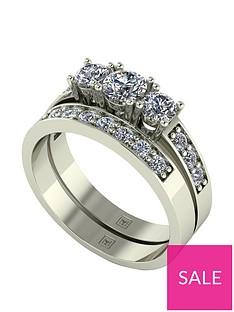 moissanite-lady-lynsey-9ct-gold-1ct-total-moissanite-trilogy-bridal-set