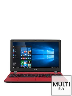 acer-aspire-es-15-intel-pentium-processor-4gb-ram-1tb-hard-drive-156-inch-laptop-with-optional-microsoft-office-365-home-red