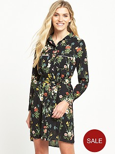 oasis-winter-lily-shirt-dress