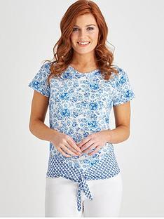 joe-browns-fresh-floral-top-bluewhite
