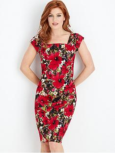 joe-browns-tropical-hibiscus-dress