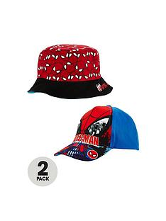 spiderman-spiderman-2-pack-cap-and-reversible-sunhat