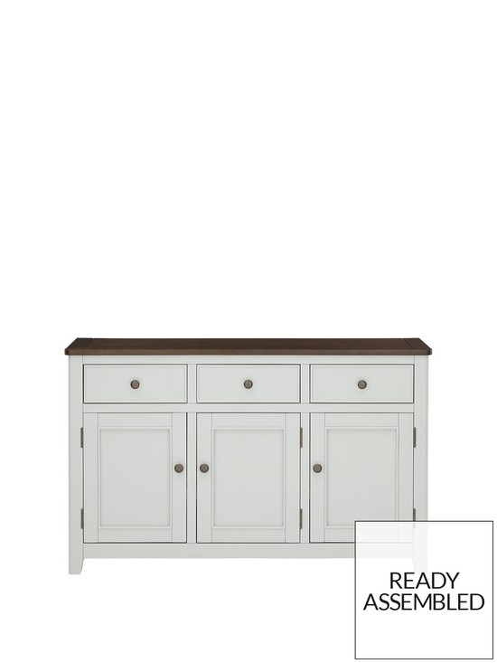 Luxe Collection - Newport Painted Ready Assembled Large Sideboard |  very.co.uk