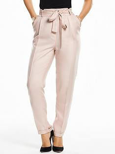 myleene-klass-paperbag-waist-trousers-blush