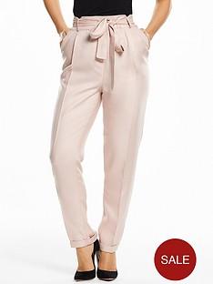 myleene-klass-paperbag-waist-trousers-blush