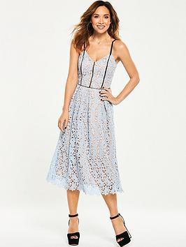 myleene-klass-contrast-strap-lace-dress