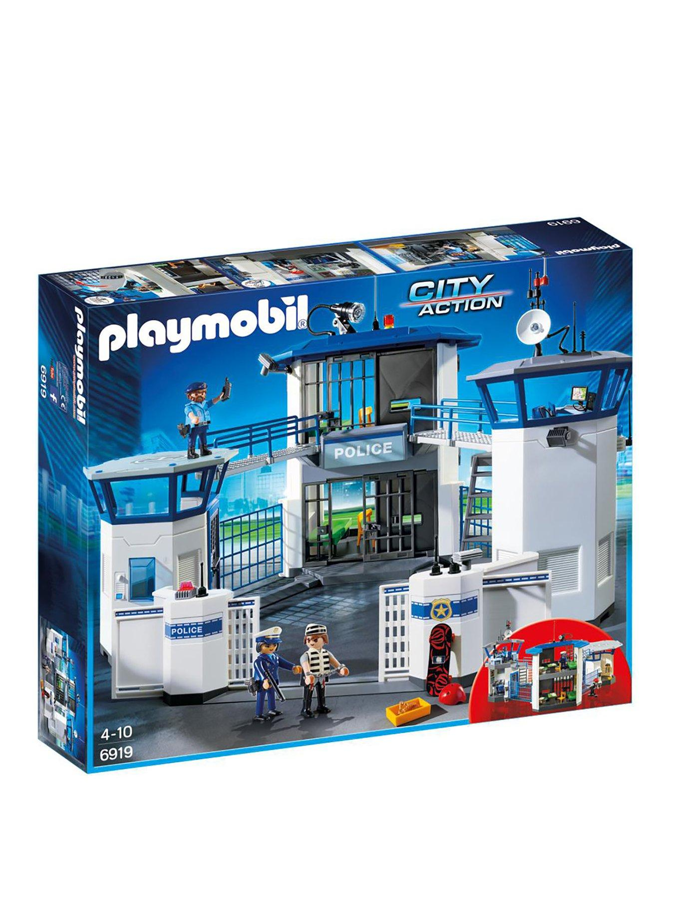 Playmobil J-74 City Action 2x Figures Police Job Lot SWAT