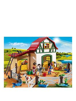 playmobil-pony-farm