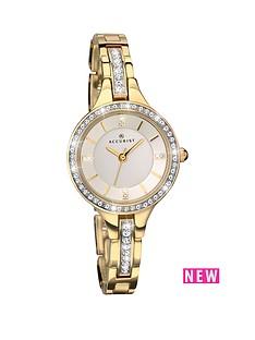 accurist-accurist-white-dial-stone-bezel-gold-tone-bracelet-ladies-watch