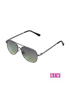 river-island-river-island-boys-gunmetal-aviator-sunglasses