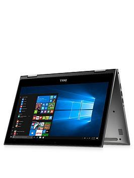 Image of Dell Inspiron 13-5000 Series, Intel&Reg; Core&Trade; I5-7200U Processor, 8Gb Ram, 256Gb Ssd, 13.3 Inch Full Hd Touchscreen 2-In-1 Laptop With Optional Microsoft Office 365 Home - Aluminium Silver - La