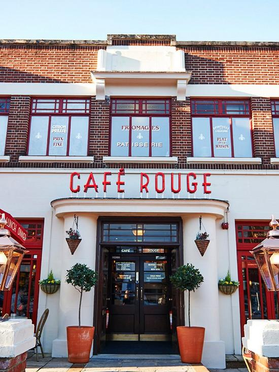 1b4287685b3d Virgin Experience Days Three Course Meal with Sparkling Wine for Two at  Café Rouge in a Choice of 81 Locations
