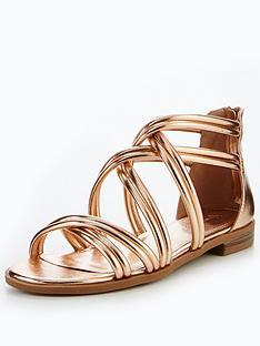 v-by-very-honey-strappy-flat-sandal-rose-gold