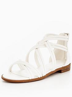 v-by-very-honey-strappy-flat-sandal--white