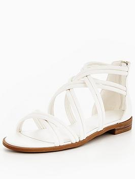 v-by-very-honey-strappy-flat-sandal--white