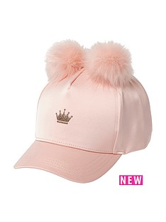 river-island-girls-satin-double-pomnbsppomnbspcrown-cap