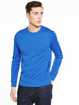 boss-green-embossed-logo-sweatshirt