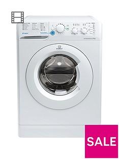 Indesit Innex BWSC61252W 1200 Spin, 6kg Load Washing Machine - White