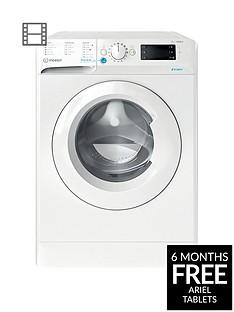 Indesit Innex BWD71453W7kg Load, 1400 SpinWashing Machine - White, A+++ Energy Rating