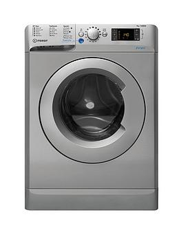 Indesit Innex Bwd71453S 7Kg Load, 1400 Spin Washing Machine - Silver Best Price, Cheapest Prices