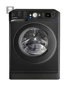 Indesit Innex BWD71453K 7kg Load, 1400 Spin Washing Machine - BlackA+++ Energy Rating