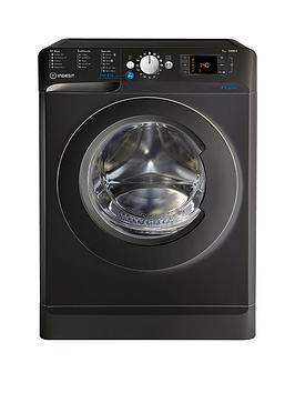 Indesit Innex Bwd71453K 7Kg Load, 1400 Spin Washing Machine - Black, A+++ Energy Rating