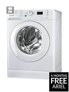 Indesit Innex BWA81483XW 8kg Load, 1400 Spin Washing Machine - White, A+++ Energy Rating
