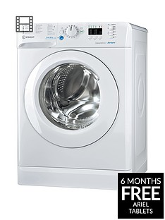 Indesit Innex BWA81483XW 8kg Load, 1400 Spin Washing Machine - WhiteA+++ Energy Rating