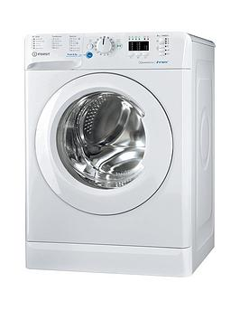 Indesit Innex Bwa81483Xw 8Kg Load, 1400 Spin Washing Machine - White, A+++ Energy Rating Best Price, Cheapest Prices