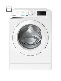 Indesit Innex BWE91484XW 9kg Load, 1400 Spin Washing Machine - White