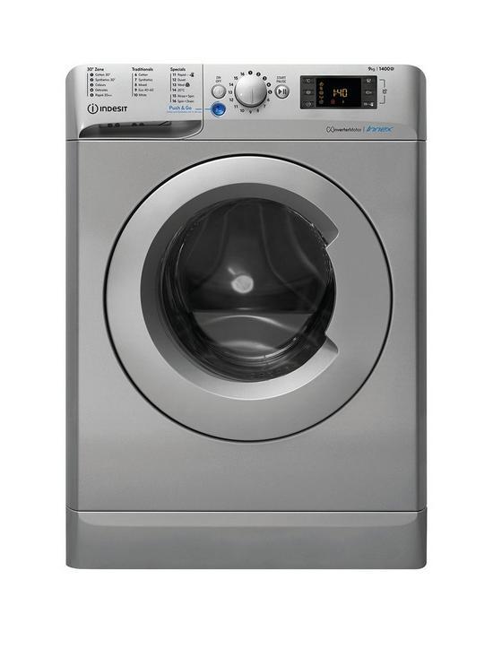 Indesit Innex Bwe91484xs 9kg Load 1400 Spin Washing Machine