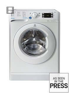 Indesit Innex BWE101684XW 10kg Load, 1600 Spin Washing Machine - White