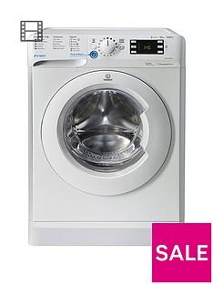 Indesit InnexBWE101684XW 10kg Load, 1600 Spin Washing Machine - White