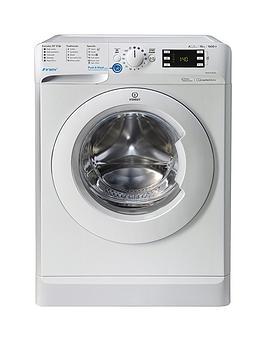 Indesit Innex Bwe101684Xw 10Kg Load, 1600 Spin Washing Machine - White