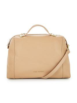 ted-baker-pop-handle-tote-taupe