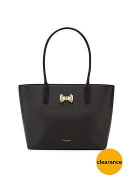 ted-baker-leather-curved-bow-small-shopper