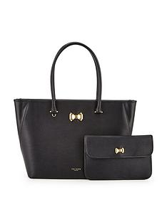 ted-baker-leather-curved-bow-large-zip-shopper