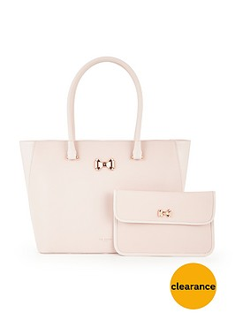ted-baker-leather-curved-bow-large-zip-shopper-baby-pink