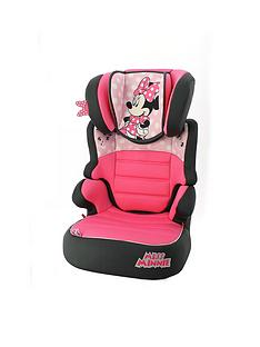Minnie Mouse Disney Minnie Mouse Befix SP Group 2-3 High Back Booster Seat
