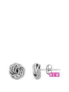 bracci-bracci-9ct-white-gold-8mm-textured-and-plain-knot-stud-earrings