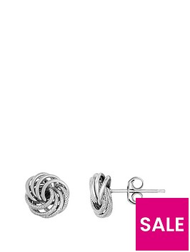 bracci-bracci-9ct-white-gold-8mm-textured-and-plain-knot-stud-earrings
