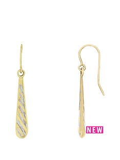 love-gold-9ct-yellow-gold-with-rhodium-double-sided-drop-earrings