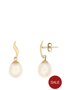 love-pearl-9ct-yellow-gold-75--8mm-freshwater-pearl-stud-earrings
