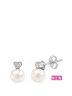 love-pearl-9ct-white-gold-diamond-set-heart-amp-freshwater-pearl-stud-earrings