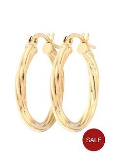 bracci-bracci-9ct-yellow-gold-19mm-swirl-hoop-creole-earrings