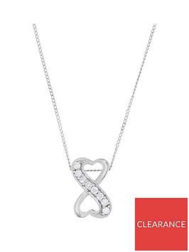 love-diamond-9ct-white-gold-8-point-diamond-infinity-pendant