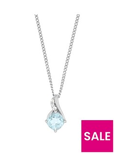 the-love-silver-collection-sterling-silver-rhodium-plated-120ct-blue-topaz-amp-cubic-zirconia-pendant
