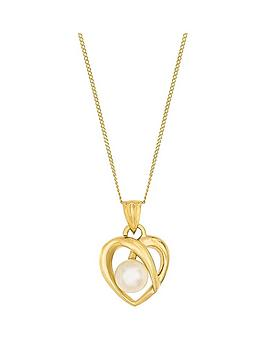 love-pearl-9ct-yellow-gold-freshwater-pearl-heart-pendant