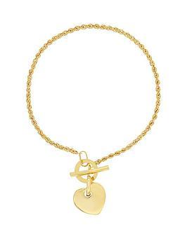bracci-bracci-9ct-yellow-gold-rope-chain-t-bar-heart-bracelet